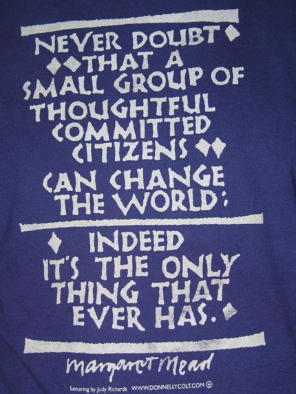 Margaret Mead quote banner