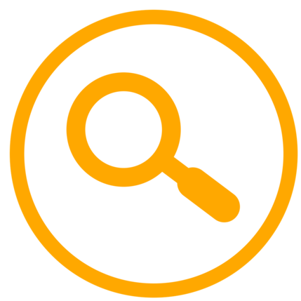 Search for volunteer roles icon